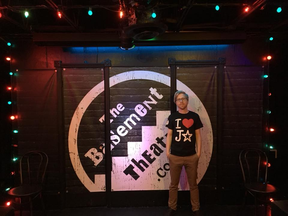 Václav @ The Basement Theatre, Atlanta, August 2018